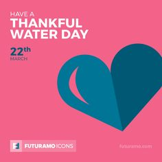 Have a thankful water day! Check out our FUTURAMO ICONS – a perfect tool for designers & developers on futuramo.com