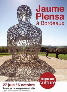 Bordeaux invite Jaume Plensa, parcours de sculptures en ville. Du 27 juin au 6 octobre 2013 à Bordeaux.