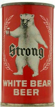 Strong, WHITE BEAR BEER.