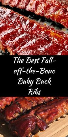 The Best Fall-off-the-Bone Baby Back RibsYou can find Smoked ribs and more on our website.The Best Fall-off-the-Bone Baby Back Ribs Grilled Baby Back Ribs, Baby Back Pork Ribs, Smoking Baby Back Ribs, Grilled Bbq Ribs, Barbecue Ribs, Ribs On Grill, Pork Back Ribs Oven, Best Bbq Ribs, Oven Cooked Ribs