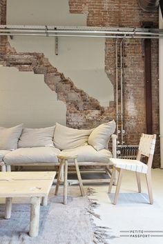 + #wood #bricks | Méchant Studio Blog