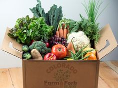 "Join 4 people right now at ""The Farm Box Boom: How Stay-in-Place Is Boosting Local Food Dine In Theater, Grab Food, Food System, Executive Chef, Root Vegetables, Serious Eats, Organic Farming, Colorado Springs, Health And Nutrition"