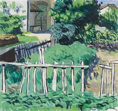 Hans Berger - Le jardin d'Adam, 1954 - Huile sur toile, 59 x cm. Artist, Painting, Oil On Canvas, Painting Art, Paintings, Painted Canvas, Drawings, Artists