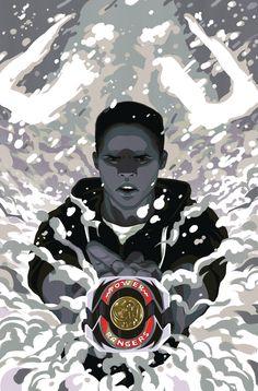 Black Power Ranger - Zack