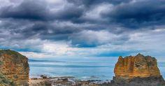 Great ocean road near Cape Otway #australia #greatoceanroad #greatoutdoors #storm #landscape #landscape_lovers #ocean #victoria #capeotway by wayne_robinson_photography