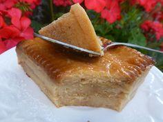 Gâteau pudding aux petits beurre et pommes - Chez Vanda