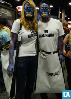 'They Live' costumes - this is genius. COREY!! That is who we need to be!