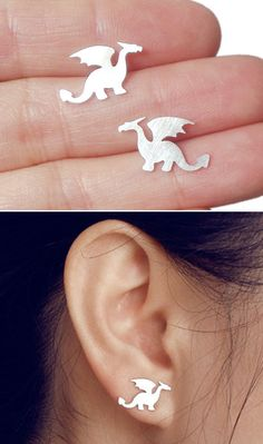 Dragon stud earrings #Gameofthrones #Daenerys