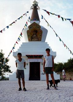 Stupa in Tar village, Hungary #buddha