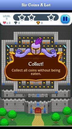 Watch out for the monsters, Sir Coins-A-Lot! Easy Games For Kids, Kid Games, Monsters, Coins, Apps, Watch, Clock, Rooms, Infant Games