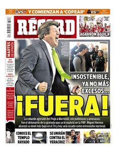 México - RÉCORD 28 de julio del 2015