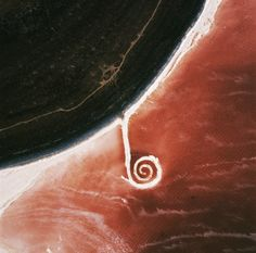 """// Spiral Jetty: My @tmagazine article about a new documentary on the """"troublemakers"""" of land art"""