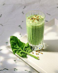 Spinat-Joghurt-Drink - smarter - Kalorien: 188 Kcal - Zeit: 20 Min.   eatsmarter.de