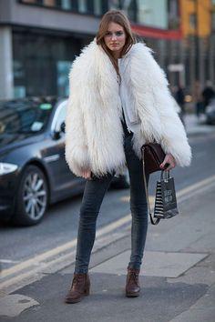 nice Street Style : Street Style Fall 2013: London Fashion Week