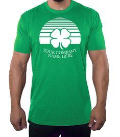 f66295d8c #funnyshirts Custom St Patrick's Day T-shirts Funny Shirts Personalized -  Shamrock Personalized Shirts