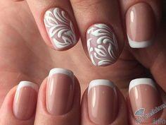 френч на коротких ногтях (16)