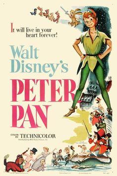 As Aventuras de Peter Pan (Peter Pan), 1953.