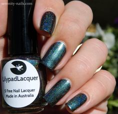 Lilypad Lacquer Mother Earth - Femme Fatale exclusive for August 2014 restock. Bought September 2014 (swatch from Serenity Nails)