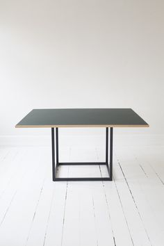 DANSK DINING TABLE Steel Dining Table, Furniture Dining Table, Modern Dining Table, Dining Room Table, Round Table Top, Square Dining Tables, Linolium, Outdoor Tables, Modern Minimalist
