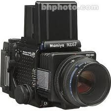 Mamiya RZ67 camera - Another great medium format camera with so many accessories like a Polaroid back that could be used for previews.