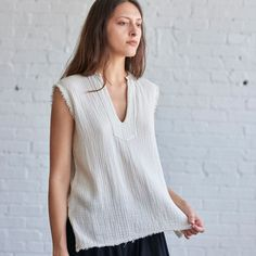 Raquel Allegra Sleeveless Tunic - SOLD OUT