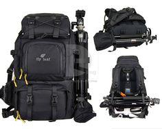 LinkDelight - Large Professional DSLR Camera Backpack Bag..ready for action