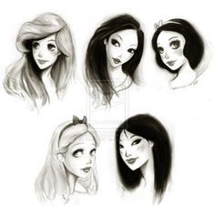 : mulan. disney. snow white. pocahontas. ariel. little mermaid. alice. alice in wonderland.