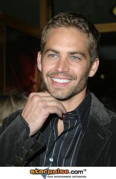 Paul Walker...those eyes & that killer smile I agree with this!!!!