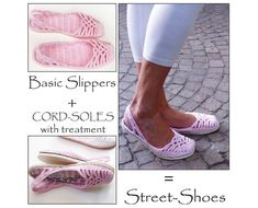 2in1PACKAGE for Lacey SlingBackSlippers by PdfPatternDesign, $10.92