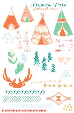 teepees, trees, feathers & arrows ~ july roost tribe recap