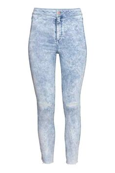 Jean Skinny High Ankle Ripped soldé 10euros