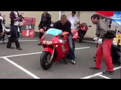 HONDA NR750 sound - YouTube