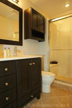 Remodeling Bathroom Stand Up Shower bathroom design highlights: stand up shower, backsplash, wall
