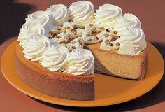 The Cheesecake Factory™ Pumpkin Cheesecake - Chef Pablo's Recipes