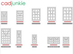 CAD Format: AutoCAD 2018  Block Type: 2D Dynamic (1x10 – Lookup Tables)  Units: mm  Description:  A dynamic block made using the Swartland Window Catalogue.  The block is parametric and uses lookup tables to produce 10 different blocks. The block can be edited to user dimensions with the standard AutoCAD Properties editor  Theses blocks are NOT official Swartland blocks. Roof Cladding, Revit Family, Cape Dutch, Iron Sheet, Cad Blocks, Autocad, Editor, 2d, Tables