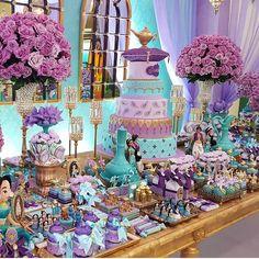 Aladdin & Jasmine party