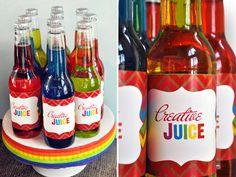 """Photo 1 of 24: ART, Painting, Crafts, Rainbow / Summer """"Rainbow Art Party - Hello Rainbow!""""   Catch My Party"""