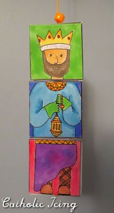 Happy Epiphany! Although the feast of the Epiphany moves to the closest Sunday in the US, we usually celebrate at home on January 6. Here's a fun craft we're doing this year with the 3 kings. The r...
