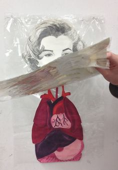 This art lesson, The Marilyn Problem, involves students creating a picture of Marilyn Monroe using the style of Hockney.