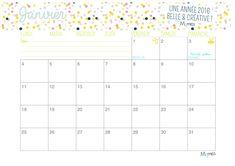 Pour vous fêter une année 2016 belle, créative et organisée, Momes vous a préparé un joli calendrier à imprimer ! Une page par mois avec les dates utiles comme les vacances et les fêtes, il ne vous reste plus qu'à y ajouter les vôtres ! Imprimez votre calendrier 2016 juste ici !