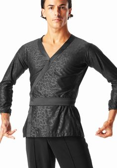 Taka Mens Shirt MS308 | Dancesport Fashion @ DanceShopper.com