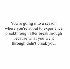 Success Quotes: QUOTATION - Image : As the quote says - Description I have been reading and hearing about a breakthrough for 3 or 4 years. Great Quotes, Quotes To Live By, Me Quotes, Motivational Quotes, Inspirational Quotes, Famous Quotes, Positive Affirmations, Positive Quotes, Collateral Beauty