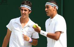 Thanasi Kokkinakis & Nick Kyrgios - 2 x rockin Aussie tennis up&comers