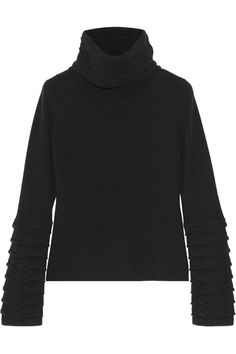 Temperley London for the Outnet Textured Wool Turtleneck sweater