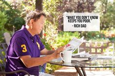 Investor and entrepreneur are not nouns, they are verbs – Robert Kiyosaki Nouns And Verbs, Rich Dad Poor Dad, Dad Quotes, Business Education, Real Estate Business, Robert Kiyosaki, How To Become Rich, Money Quotes, Always Learning