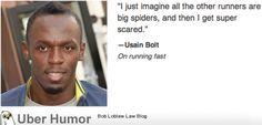 Haha Usain Bolt