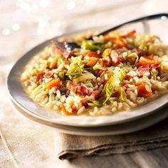 A jó rizottó titka a megfelelő rizsben rejlik, ezért ne légy rest, kelj útra, és találd meg a legjobbat.