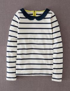 I've spotted this @BodenClothing Collared Breton Ivory & Navy Stripe