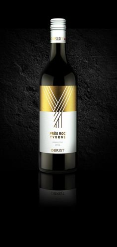 Obrist Winery - Près Roc on Packaging of the World - Creative Package Design Gallery