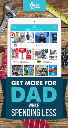 Don't know what to get Dad for Father's Day? Let Flipp help you. View the latest weekly ads from your local stores all in one app. Match products up with coupons to gain the ultimate savings. The best part: Flipp is free to download today. Daddy Day, Mom Day, Fathers Love, Happy Fathers Day, Holiday Crafts, Fun Crafts, You Are Handsome, Father's Day Celebration, Local Stores
